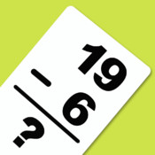 Subtraction 0-20 Flash Cards(All Facts)
