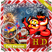 Christmas Mania - Free Search & find concealed and hidden objects in the fun filled mania of X`mas