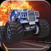 Monster Truck Road Rage - a Fun, Run, Smash, and Super Racing Game for Kids