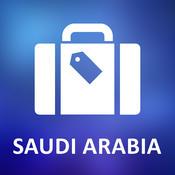 Saudi Arabia Offline Vector Map
