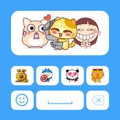 Animated Icons - Best animated GIF sticker keyboard animated