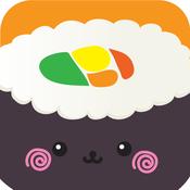 AA Yummy Sushi Blast PRO - Swipe and Match the Sushi to win the puzzle games sushi menu book