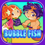 Bubble Fish PRO - Guppies and Friends- Match 3 In this Bubble Popping Adventure Game for Kids adfree