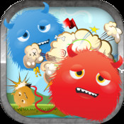 Colored Angry Monster Shooting Blast Full - An Awesome Clear Vision Challenge