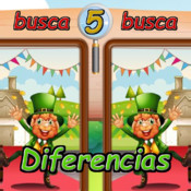 Search and find the 5 differences