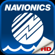 Navionics Boating HD: marine & lakes charts, routes, GPS tracks for cruising, fishing, yachting, sailing, diving.