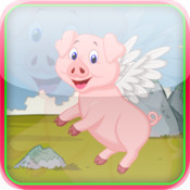 Flying Pig Tap Adventure PRO - Tap Hunt Game HD