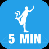 5 Minute Stretch Calisthenics Challenge : Full Fitness exercise workout trainer and fitness buddy, home, on-the-go personal mobile fitness trainer, weight loss for Health