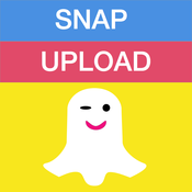 SnapUpload Free - Send any photo & video from camera roll to snapchat