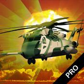 Attack Chopper 2 Pro - Air-striker warrior against a black-hawk guild. Fly an Apache, dodge to avoid hordes of war-zone chaos.