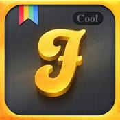 Cool Fonts Gold