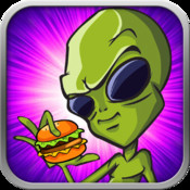 Alien Cheeseburger Dash i can haz cheeseburger