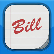 Bill Keeper for iPad - Bill Manager & Reminder hillary clinton bill kiss