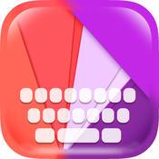 KeyCCM – Flat Design : Custom Color & Wallpaper Keyboard Art Effects Themes