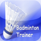 Badminton Trainer.Footwork training for badminton games
