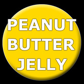 Peanut Butter Jelly Button!