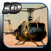 Heli Gunner: Shoot from a flying Helicopter - Frontline Airborne Contract Killer - 3D HD FREE