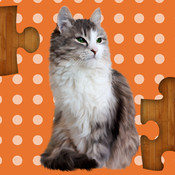 Zoo Puzzle : Free animal jigsaw puzzle educational learning game for kids.
