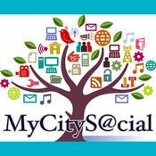 MyCitySocial email newsletter template