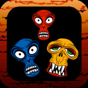Zombies Match Three Blitz Puzzle Game! Catch the Zombies m3!!!