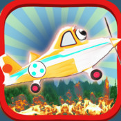 Amazing Forest-Fire Rescue Air-Planes: Water-Bomb Pilot-s Blast the In-ferno of Flame-s PRO