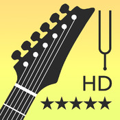 Electric Guitar Tuner - Free Guitar Tuner - LP Tuner Free HD - Detects the optimal tuning using built-in microphone with precision and ease! freeware tuner metronome