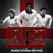 England Legends` Insights with John Barnes, Bryan Robson and Barry Venison