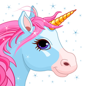 Magical Unicorns & Cute Fairies Puzzle Game