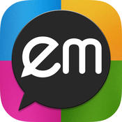 EMwithME - Free Text, Voice & Group Chat
