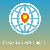 Ryazan Oblast, Russia Map - Offline Map, POI, GPS, Directions