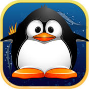 Airborne Penguins Flying Puzzling Crazy Catapult - Air Surfers Racing Game Pro penguins game