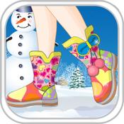Dress My Snow Boots boots ninja