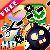 Cut My Apps HD Free - A Physics-Based Slice & Slash Action Arcade Game