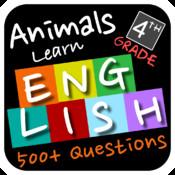 Animals Learn English - Fourth Grade