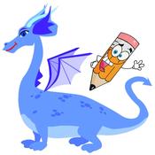 Fantasy Dragon Coloring Book for Children