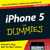 iPhone 5 For Dummies, Portable - Official How To Book, Interactive Inkling Edition