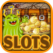 Aliens Treasure Paradise Cove Slots - Tap Digger Diamond Lucky Saga of Top Jackpot Games Free