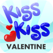 """KISS KISS"" Valentine`s Day Greeting Generator hillary clinton bill kiss"