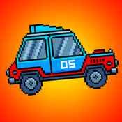 Pixel Jumpy Racer racer road speed