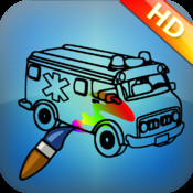 Cool Cars Coloring Book HD