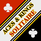 Aces & Kings Solitaire HD Free - The Classic Full Deluxe Card Games for iPad & iPhone