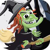 Halloween Spooky Witch Saga