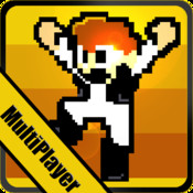 Omega Man Pixel MultiPlayer: Battle Station X Run