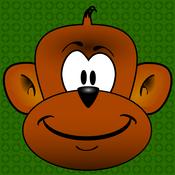 Funny Jumper Monkey eat Fruit Game for Kids