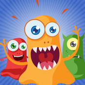 Kids Monster Match Three Puzzle Games