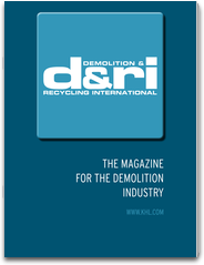 Demolition & Recycling International – D&Ri, The magazine for the serving the global demolition and C&D waste recycling industry
