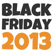 Black Friday 2013 black
