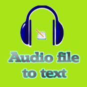 A++ AI audio file to text prod - audio file transcription by speech recognition sds file