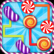 A Candy Flow Puzzle Game