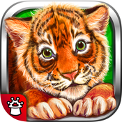 Animal Kingdom for kids! 80 highly illustrated animals and their sounds as well as puzzles and educational games.